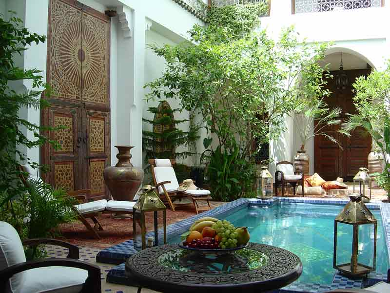 Moroccan Outdoor Decorating Ideas