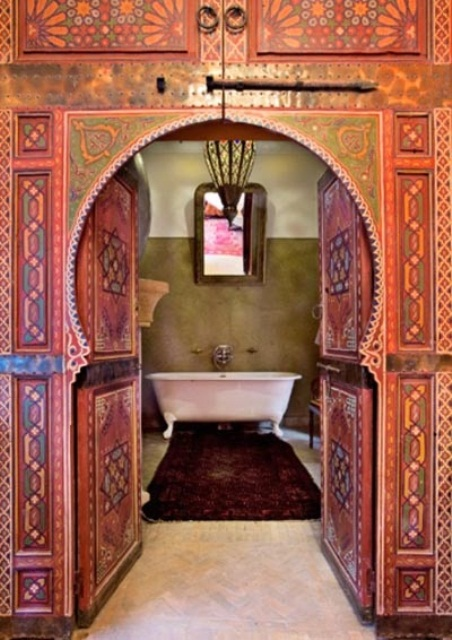 Moroccan Design Ideas add to your home decor an unique touch moroccan inspired living room design ideas 640 In Moroccan Doors Decor